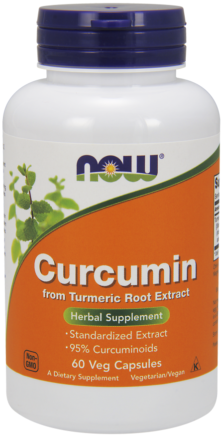 Now Foods Curcumin - opakowanie