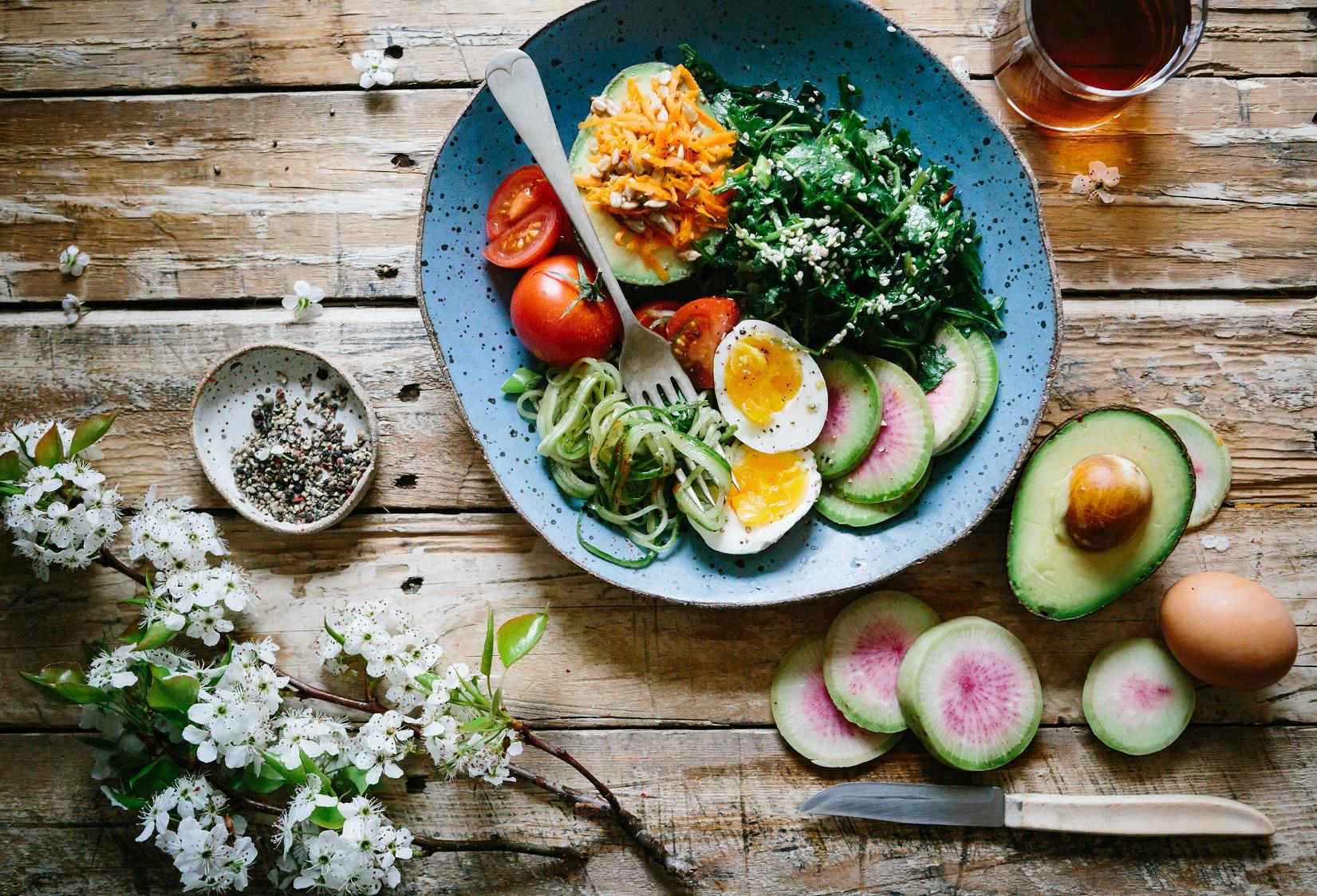 Dieta wegetariańska może przyczynić się do poprawy naszego zdrowia i samopoczucia
